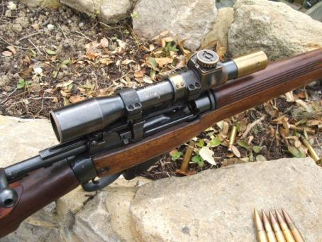 303 British Sniper Rifles http://www.byswordandmusket.co.uk/past-sales/rifles-requiring-a-firearms-license/british-rifles-sold/1944-no4-mk1-t-303-sniper-rifle/