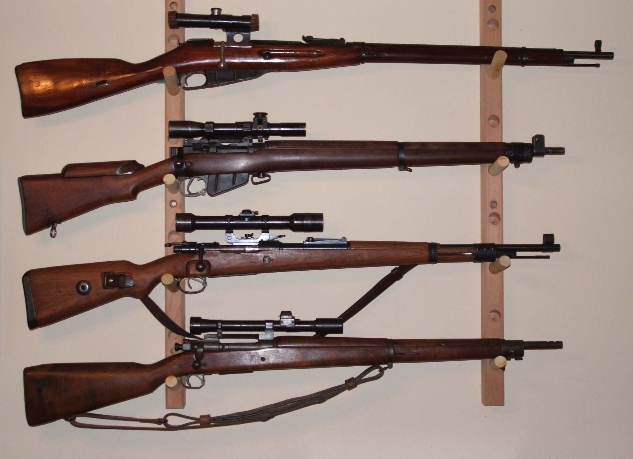 303 British Sniper Rifles http://www.byswordandmusket.co.uk/past-sales/rifles-requiring-a-firearms-license/sniper-rifles-ww2-era/